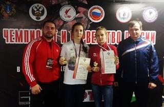 Уссурийская спортсменка выиграла золотую медаль Первенства России по кикбоксингу