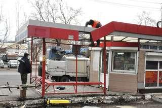 В Уссурийске приступили к ремонту автобусных остановок