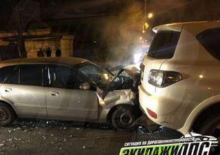 Пьяный водитель не смог одолеть Nissan Patrol в Приморье