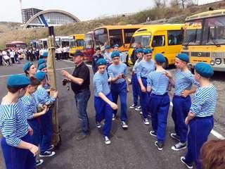 Уссурийские школьники сыграли в «Зарницу»