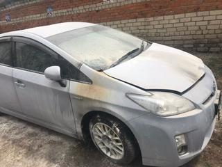 Автомобиль жительницы Уссурийска подожгли из-за ревности