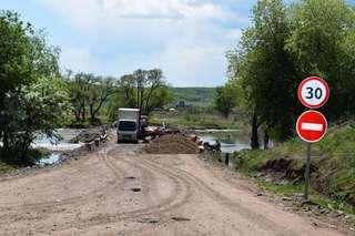Проезд в Кроуновку восстановлен