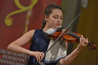 Ученица уссурийской школы искусств войдет в состав Всероссийского юношеского симфонического оркестра!