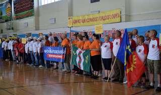 Торжественная церемония открытия спартакиады среди пенсионеров состоялась в Уссурийске