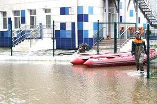На «Семи ветрах» и в Междуречье уровень воды пошел на спад