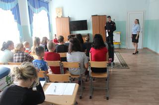 В Уссурийске полицейские провели мероприятие с воспитанниками социально-реабилитационного центра