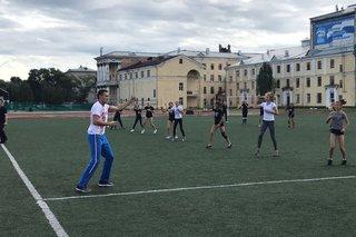 Двукратный чемпион мира Александр Захаров пригласил земляков на зарядку