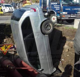 Девушка увела авто в канаву, чтобы не попасть в аварию в Уссурийске