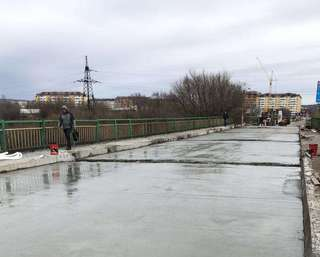 Ремонт опорных частей моста на улице Чичерина запланирован на следующей неделе
