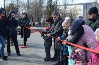 Сквер имени В. Кузьменчука открылся в Уссурийске после реконструкции