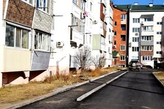 28 дворов отремонтировали в Уссурийске