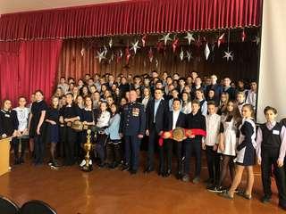 Девять встреч с уссурийскими школьниками провели участники проекта «Равнение на защитников Отечества»