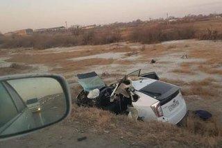 Водитель Приуса спровоцировал массовую аварию под Уссурийском