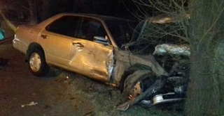 В Уссурийске две машины разбили всмятку