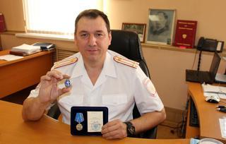 Сразу три награды получил начальник транспортной полиции Уссурийска