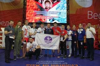 Уссурийские спортсмены привезли награды с Первенства ДФО по кикбоксингу