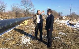 Строительство газопровода продолжается в Уссурийске