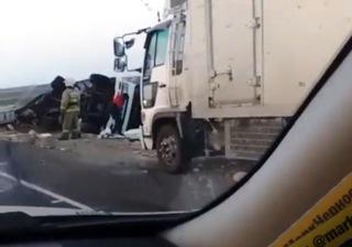 В Приморье произошло массовое ДТП с бензовозом и грузовиками