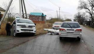 В Уссурийске произошло жёсткое ДТП
