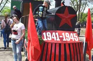 В городском парке Уссурийска продолжается праздничная программа «Дорога памяти в четыре года»