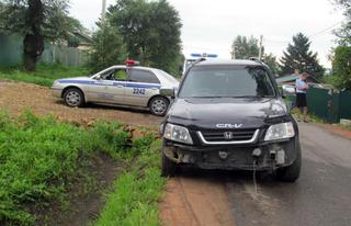 В Уссурийске сотрудники полиции задержали подозреваемого в угоне автомобиля