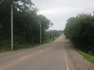 На улице Воровского установили новые фонари освещения