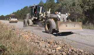 В село Глуховка ремонтируют дорогу