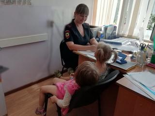 Полицейские разыскали матерей девочек, найденных прохожими в Уссурийске