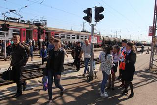 Акция «Детская безопасность на железной дороге» прошла в Уссурийске