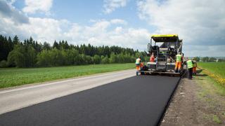В селах УГО закончились работы по асфальтированию дорог
