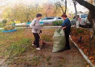 В минувшие выходные дни в микрорайонах Уссурийска прошли общегородские субботники