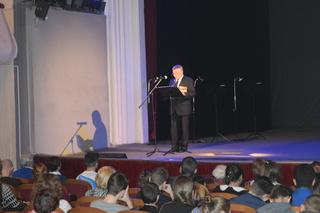 О секретном оружии Ленинграда уссурийцам рассказали актеры театра им. В.Ф. Комиссаржевской