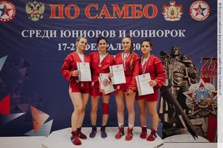 Уссурийские самбисты вновь вошли в число сильнейших в России