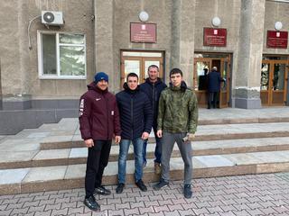 Воспитанники федерации кикбоксинга УГО вступили в ряды волонтеров