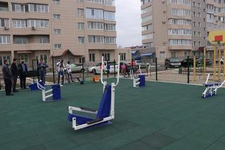 Первая площадка по программе «Спортивный дворик» появилась в Уссурийске