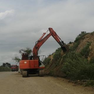 Строительство объездной дороги на улице Новоселова стартовало в Уссурийске