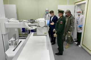 Олег Кожемяко осмотрел новый госпиталь Минобороны в Уссурийске