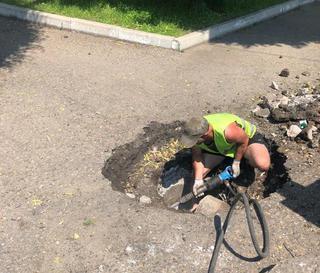 Масштабный ремонт ливневок проходит на улицах Уссурийска
