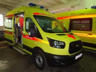 Два новых реанимобиля пополнили автопарк скорой медицинской помощи Уссурийска