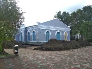 Здание Уссурийского городского музея изменилось до неузнаваемости