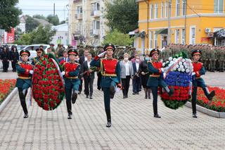 В честь 75-летия со дня окончания Второй мировой войны в Уссурийске прошли памятные мероприятия
