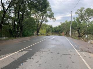 Вода в реках в Уссурийске пошла на спад