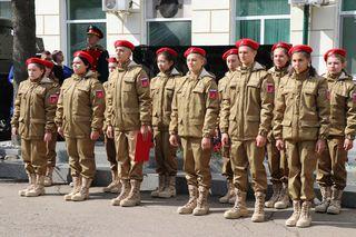 В Уссурийске еще 22 школьника вступили в ряды Юнармии