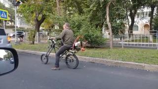 Рождён быть свободным: приморец стал водителем уникального транспорта