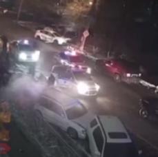 Водитель без прав на Toyota Mark II пытался скрыться от ГИБДД и протаранил четыре автомобиля в Уссурийске