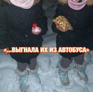 Кондуктор в Приморье выгнала маленьких девочек из автобуса на мороз
