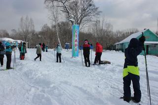 Лыжная трасса открылась в субботу 16 января в селе Каймановка