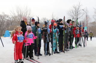 Более 150 уссурийцев приняли участие в «Лыжне России»