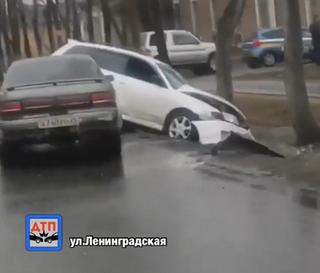 «Ужас какой-то»: ДТП произошло в Уссурийске