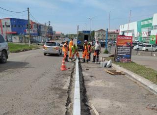 Дорожный ремонт в Уссурийске ведется на девяти улицах